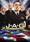 JAG Season 5 DVD cover