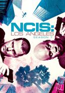 NCIS Los Angeles Season 7 DVD cover
