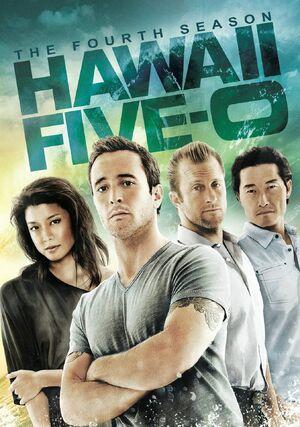 Hawaii Five-0 Season 4 DVD cover