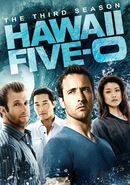 Hawaii Five-0 Season 3 DVD cover