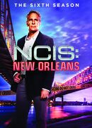 NCIS New Orleans Season 6 DVD cover