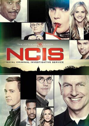 NCIS Season 15 DVD cover