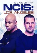 NCIS Los Angeles Season 11 DVD cover
