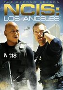 NCIS Los Angeles Season 2 DVD cover