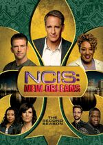 NCIS New Orleans Season 2 DVD cover