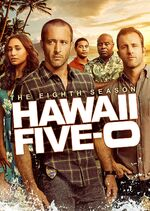 Hawaii Five-0 Season 8 DVD cover