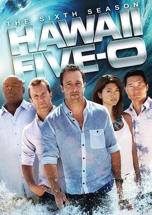 Hawaii Five-0 Season 6 DVD cover
