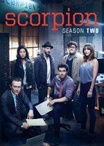 Scorpion Season 2 DVD cover