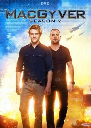 MacGyver Season 2 DVD cover