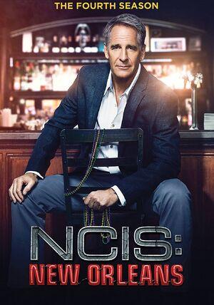 NCIS New Orleans Season 4 DVD cover