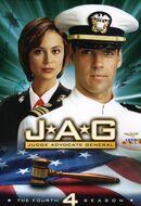 JAG Season 4 DVD cover