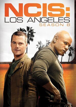 NCIS Los Angeles Season 8 DVD cover