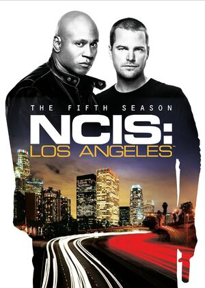 NCIS Los Angeles Season 5 DVD cover