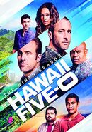 Hawaii Five-0 Season 9 DVD cover