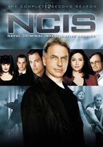 NCIS Season 2 DVD cover