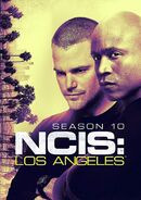 NCIS Los Angeles Season 10 DVD cover