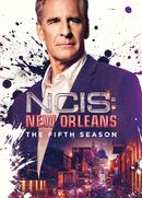 NCIS New Orleans Season 5 DVD cover