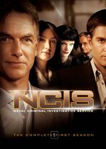 NCIS Season 1 DVD cover