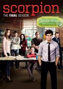 Scorpion Season 4 DVD cover