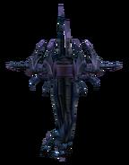 Dark satellite render