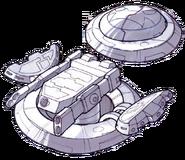 Turbo cannon concept art