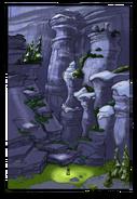 Mountain Temple concept art