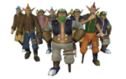 Sky pirates group render