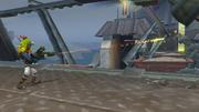 Blaster gameplay from Jak II