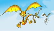 Swamp bat concept art