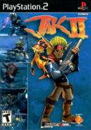 Jak II front cover (US)