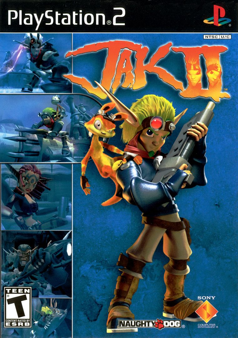 Image result for jak and daxter cover