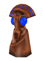 Eco teleport totem render