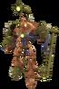 Gol and Maia's Precursor robot render