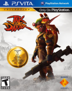 Jak and Daxter Collection front cover (Vita) (US)