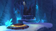 Snowy Mountain cave screen
