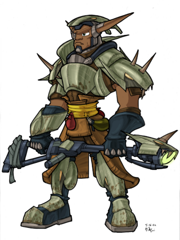 File:Sig from Jak II concept art.png