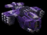 Skyheed's heavy fighter render