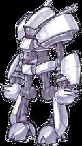 Roboguard from Jak II concept art