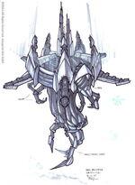 Dark satellite concept art