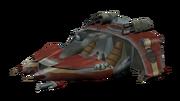 Krimzon Guard cruiser render