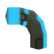 Blue ammo clip