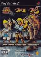 Jak and Daxter Trilogy DVD front cover (NTSC-UC) (2004)