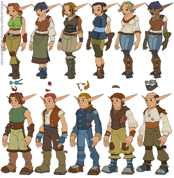 Humans Jak And Daxter Wiki Fandom Powered By Wikia