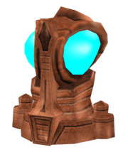 Orb search Precursor statue render