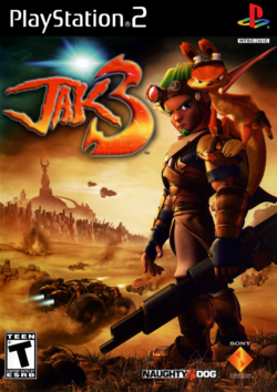 Jak 3 front cover (US)
