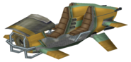 Zoomer three-seater render