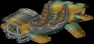 Zoomer three-seater render
