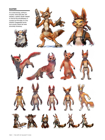 File:Daxter from Jak 4 concept art.png