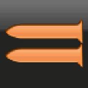 Ground attack rocket icon