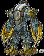 Titan Suit concept art